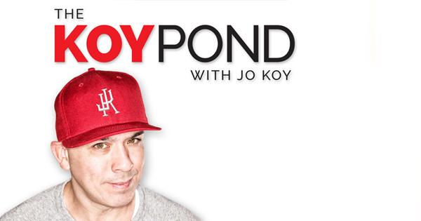 The koy pond with jo koy for The koy pond